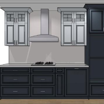 キッチンプラン図