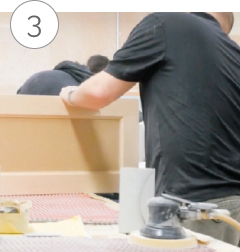 カスタムメイドの製造開始